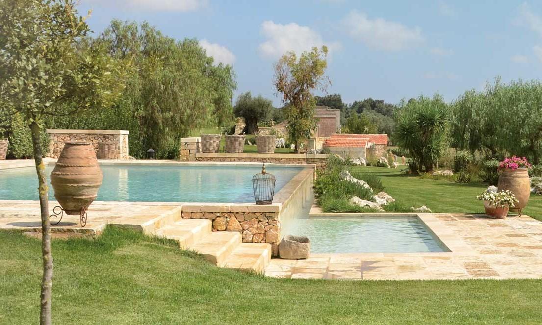 Natura benessere e charme al naturalis bio resort di martano shabby chic mania by grazia maiolino - Piante per bordo piscina ...
