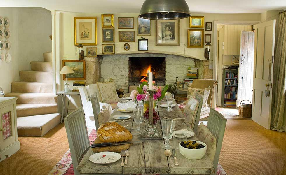 Brook cottage shabby chic mania by grazia maiolino for Interni case inglesi