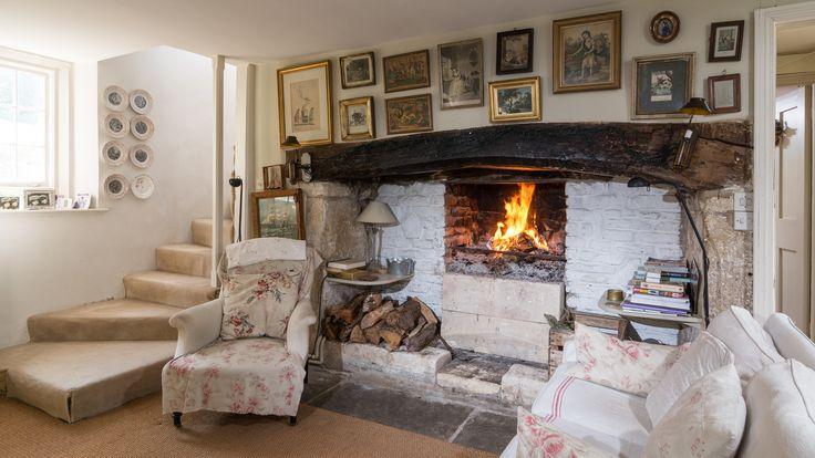 Brook cottage shabby chic mania by grazia maiolino for Case inglesi interni