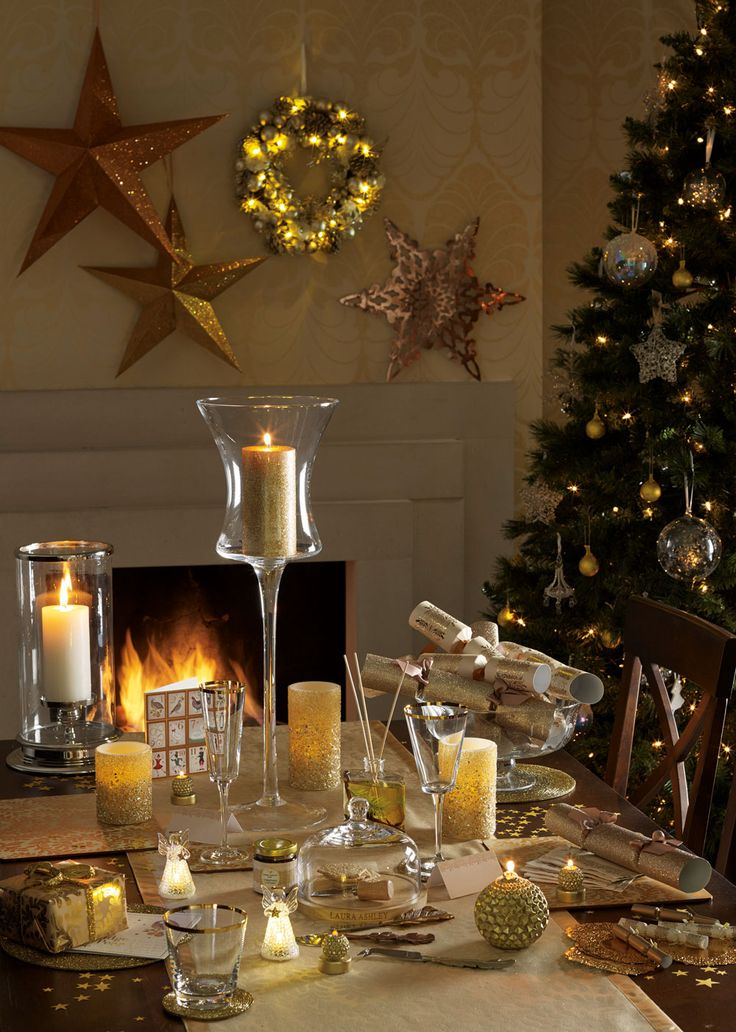 Idee Decor Natale 2015 Christmas With Laura Ashley