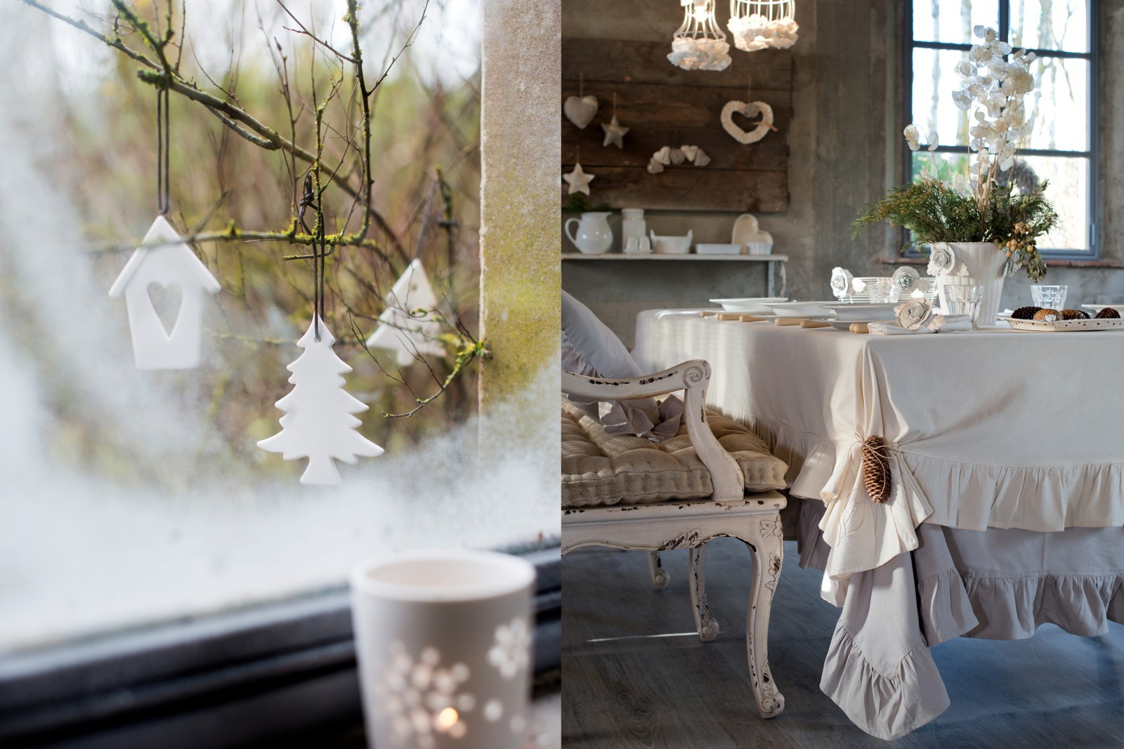 christmas dreaming | shabby chic mania by grazia maiolino - Shabby Chic Camera Da Letto
