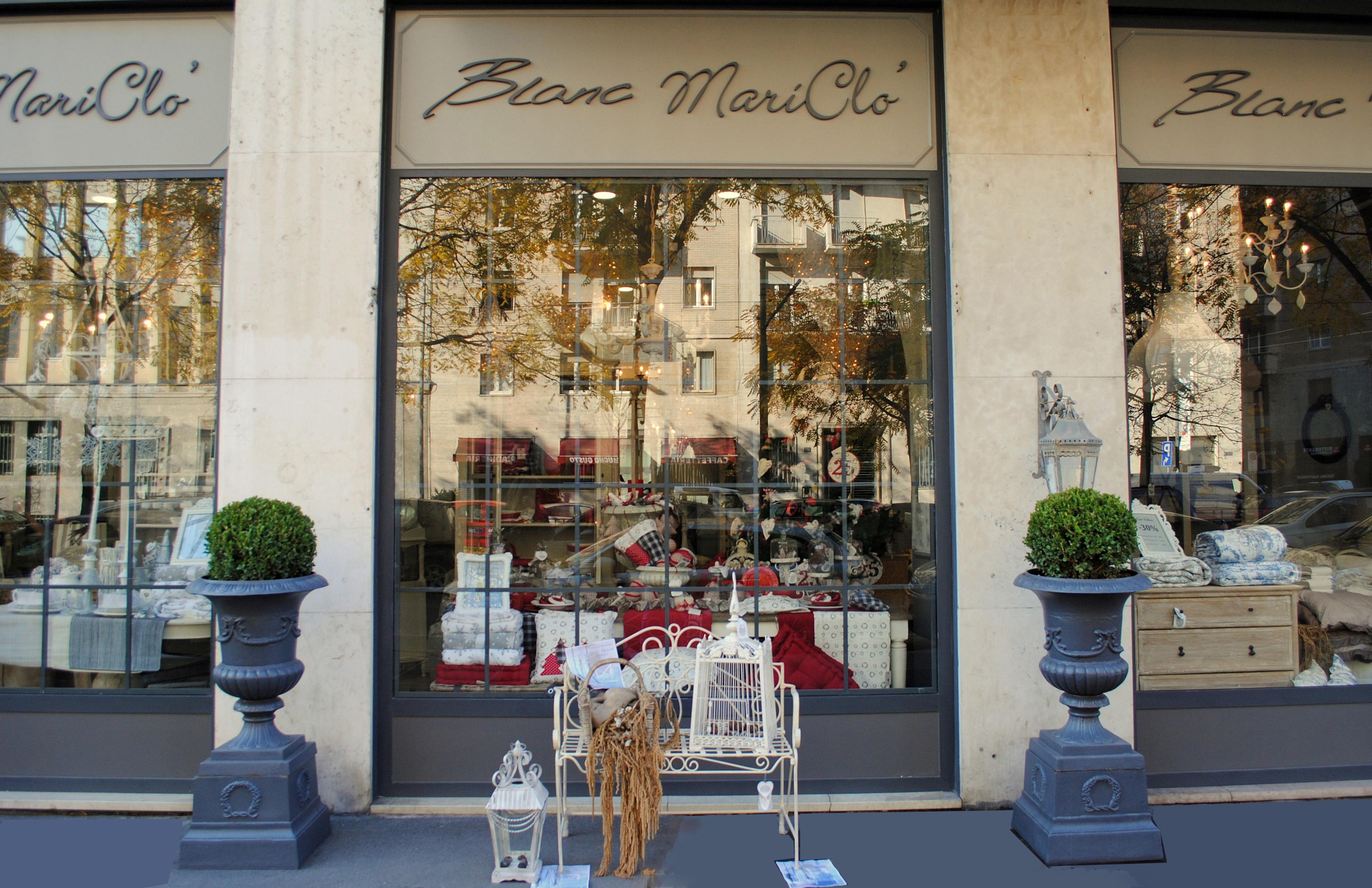 Negozi Per La Casa Milano il natale blanc mariclò a milano | shabby chic mania by