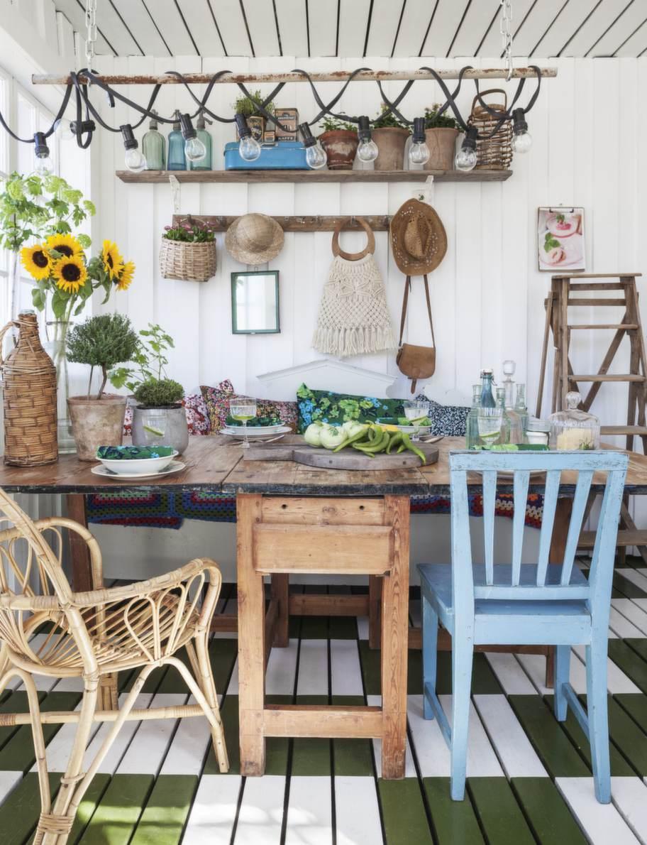 esprit boh me in un giardino d inverno shabby chic mania by grazia maiolino. Black Bedroom Furniture Sets. Home Design Ideas