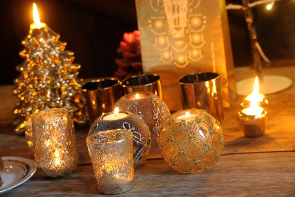 Sera di natale a lume di candela shabby chic mania by grazia maiolino - Comptoir de famille online shop ...
