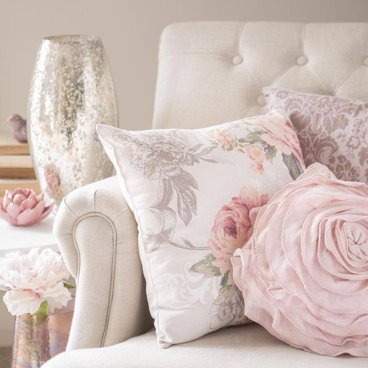 Rose quartz e serenity i colori del 2016 shabby chic for Cuscini shabby chic fai da te