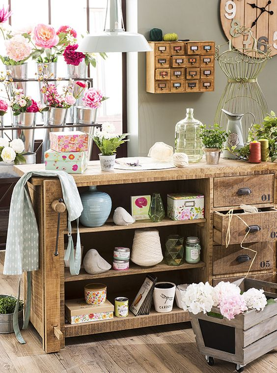 Maisons du monde pe 2016 tendenza garden factory shabby for Happy casa arredo