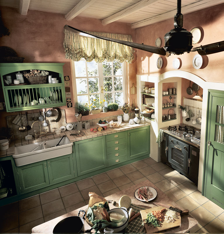 Old England by Marchi Cucine, l\'autentica cucina inglese | Shabby ...