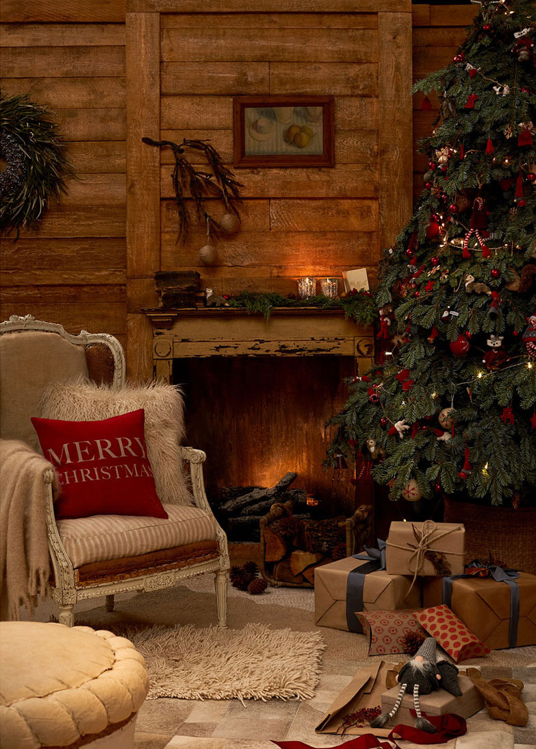 Zara home natale 2016 holiday evenings shabby chic - Natale country decorazioni ...