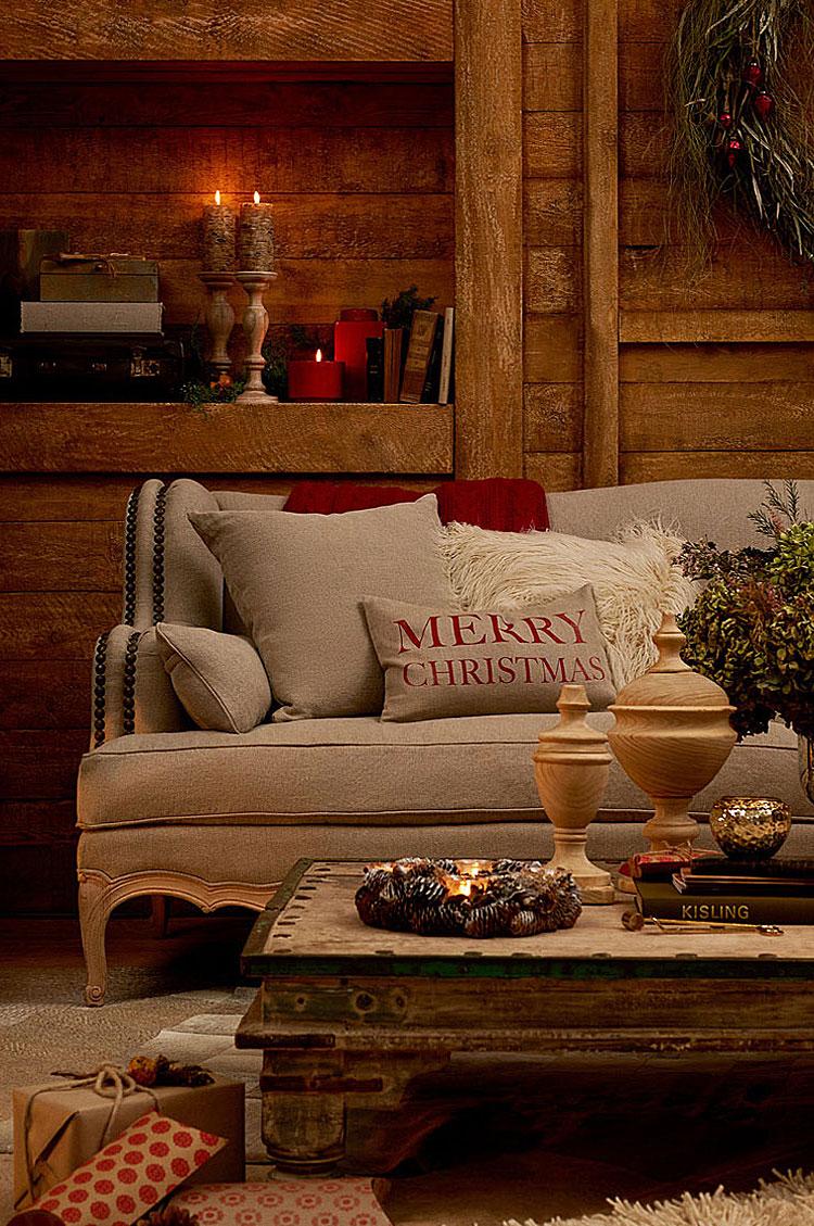 Zara Home Natale 2016 Holiday Evenings Shabby Chic