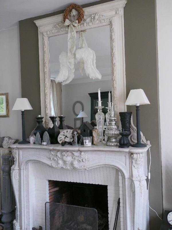 Maison d hotes in piccardia le trentetrois shabby chic mania by grazia maiolino - Specchio in francese ...
