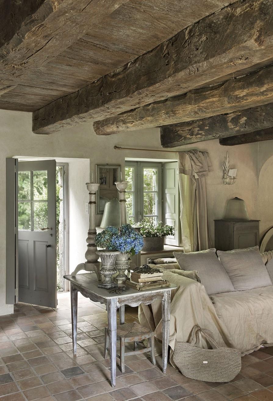 Una casa affascinante a morbihan shabby chic mania by - Arredare casa stile elegante ...