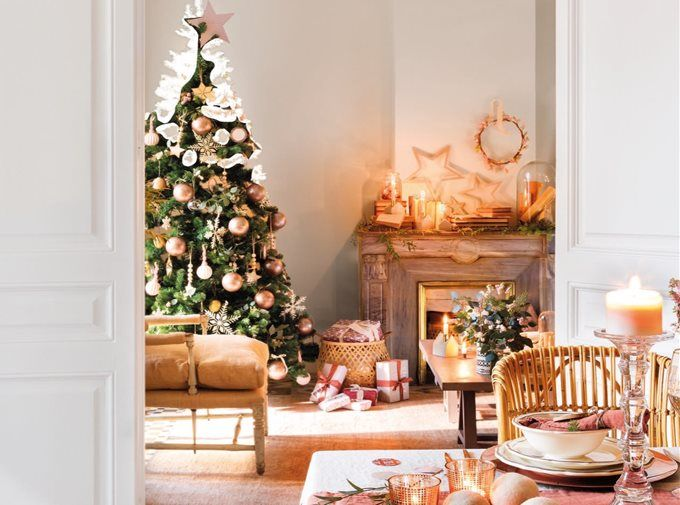 Case Di Campagna Addobbate Per Natale : Decorazioni di natale per la casa fai da te