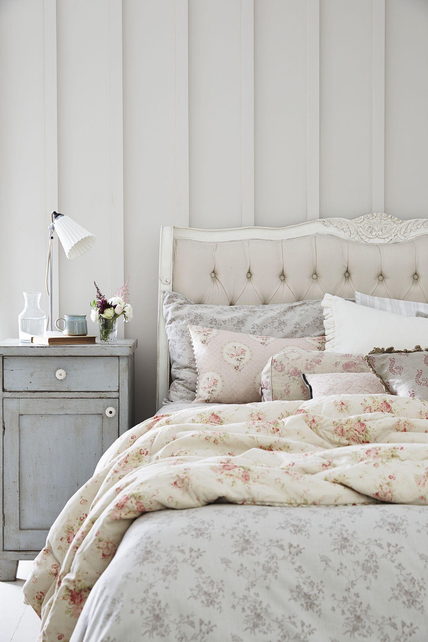 La camera da letto in stile francese | Shabby Chic Mania by Grazia ...