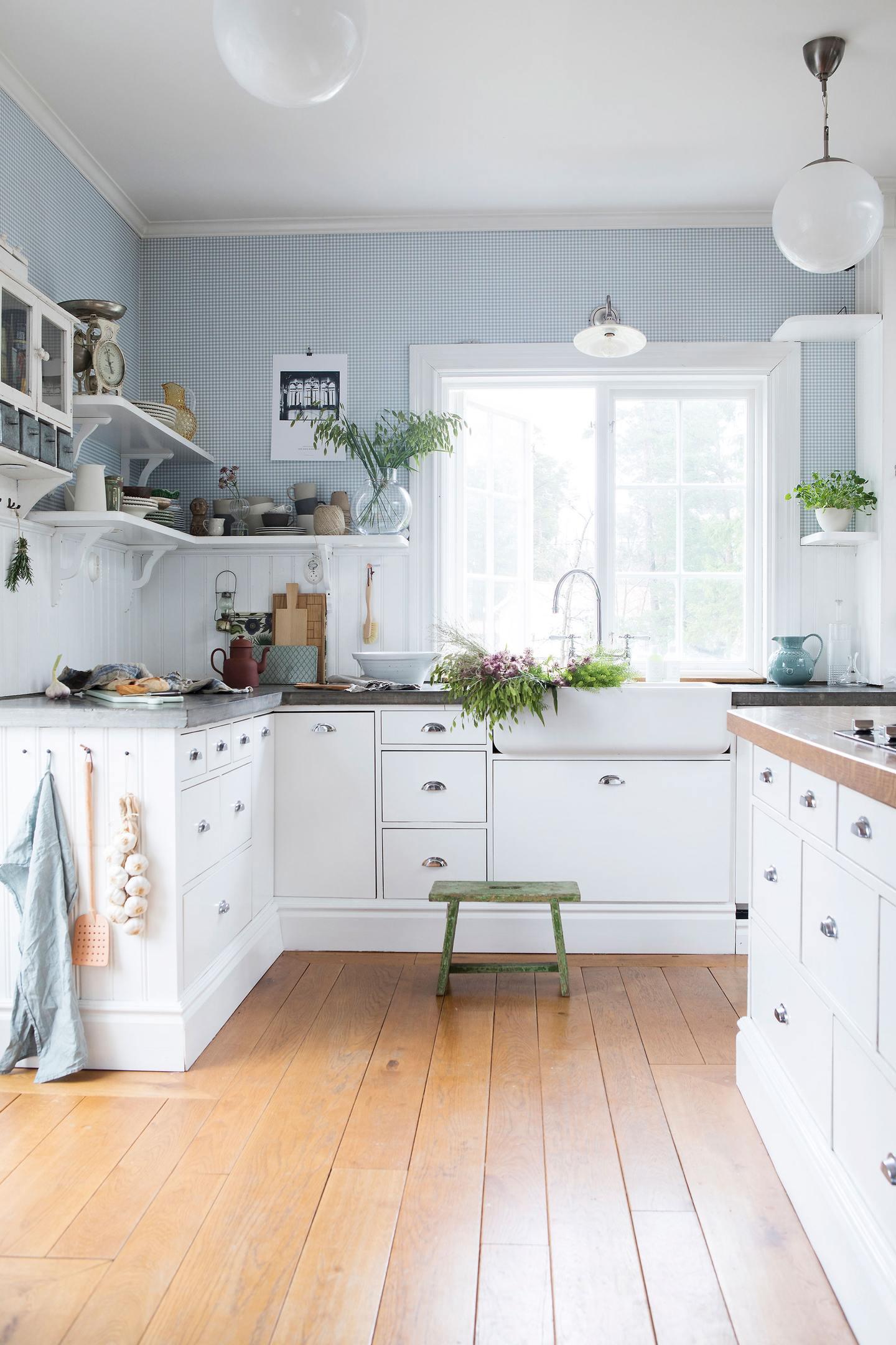 Cucina di Campagna Nordic Style | Shabby Chic Mania by Grazia Maiolino