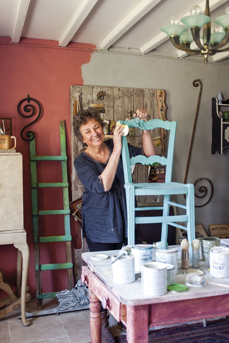 Vernice Chalk Paint Annie Sloan la casa in normandia di annie sloan   shabby chic mania by