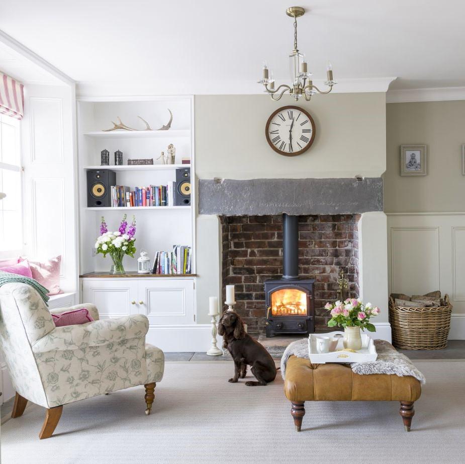 Stufa A Legna Stile Inglese idee per la casa in stile cottage | shabby chic mania by