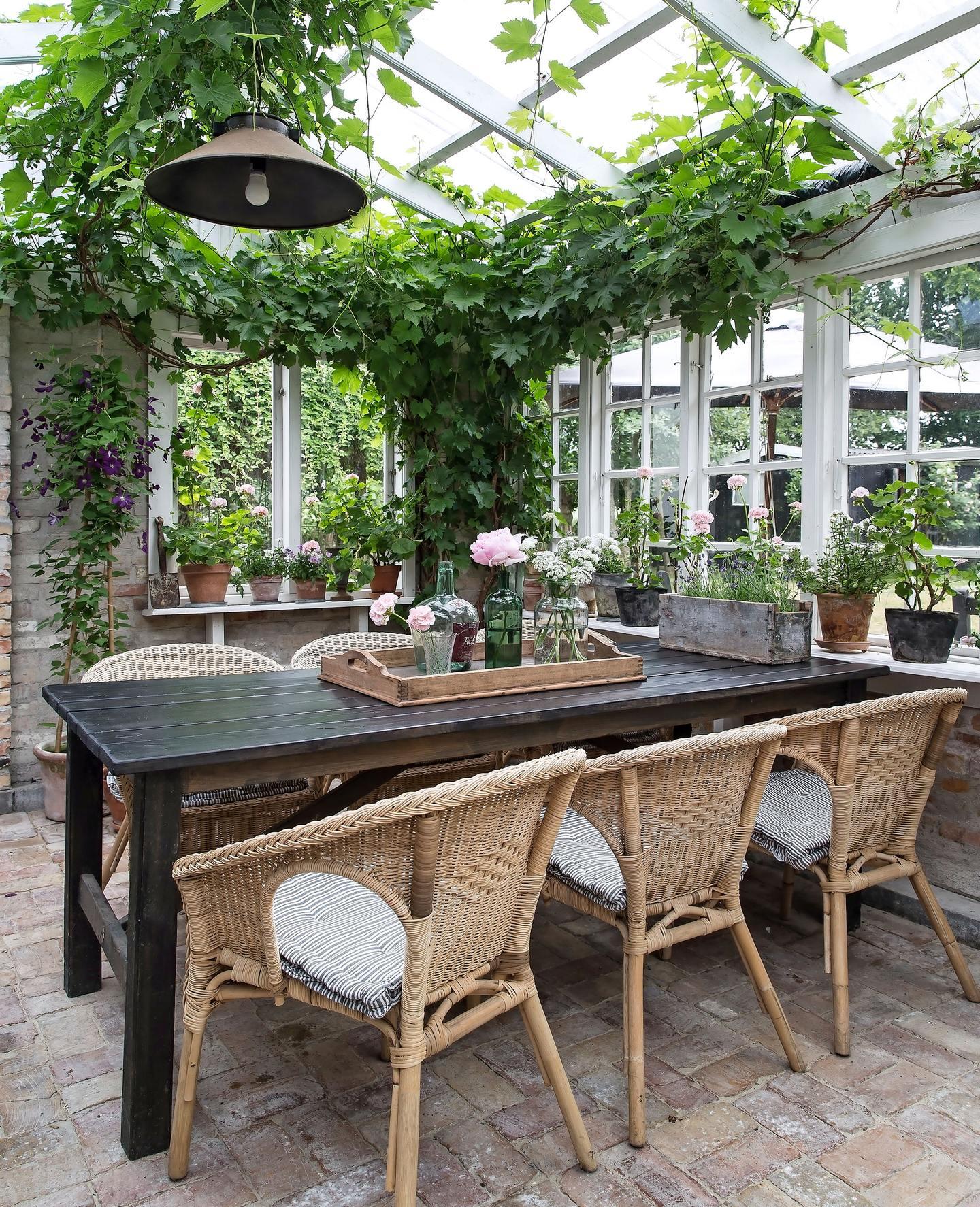 Giardino D Inverno In Vetro giardino d'inverno in stile vintage | shabby chic mania by